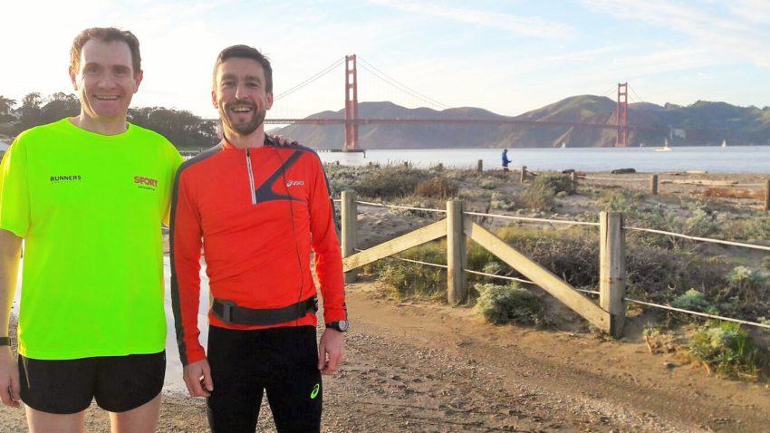 Paul y yo con el Golden Gate al fondo