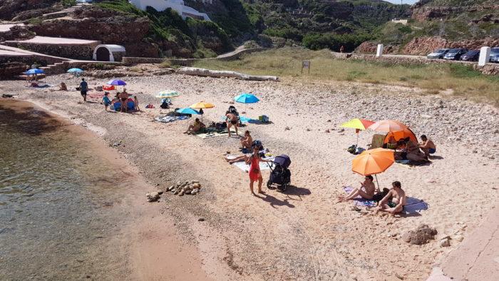 Cala Morell - Playa